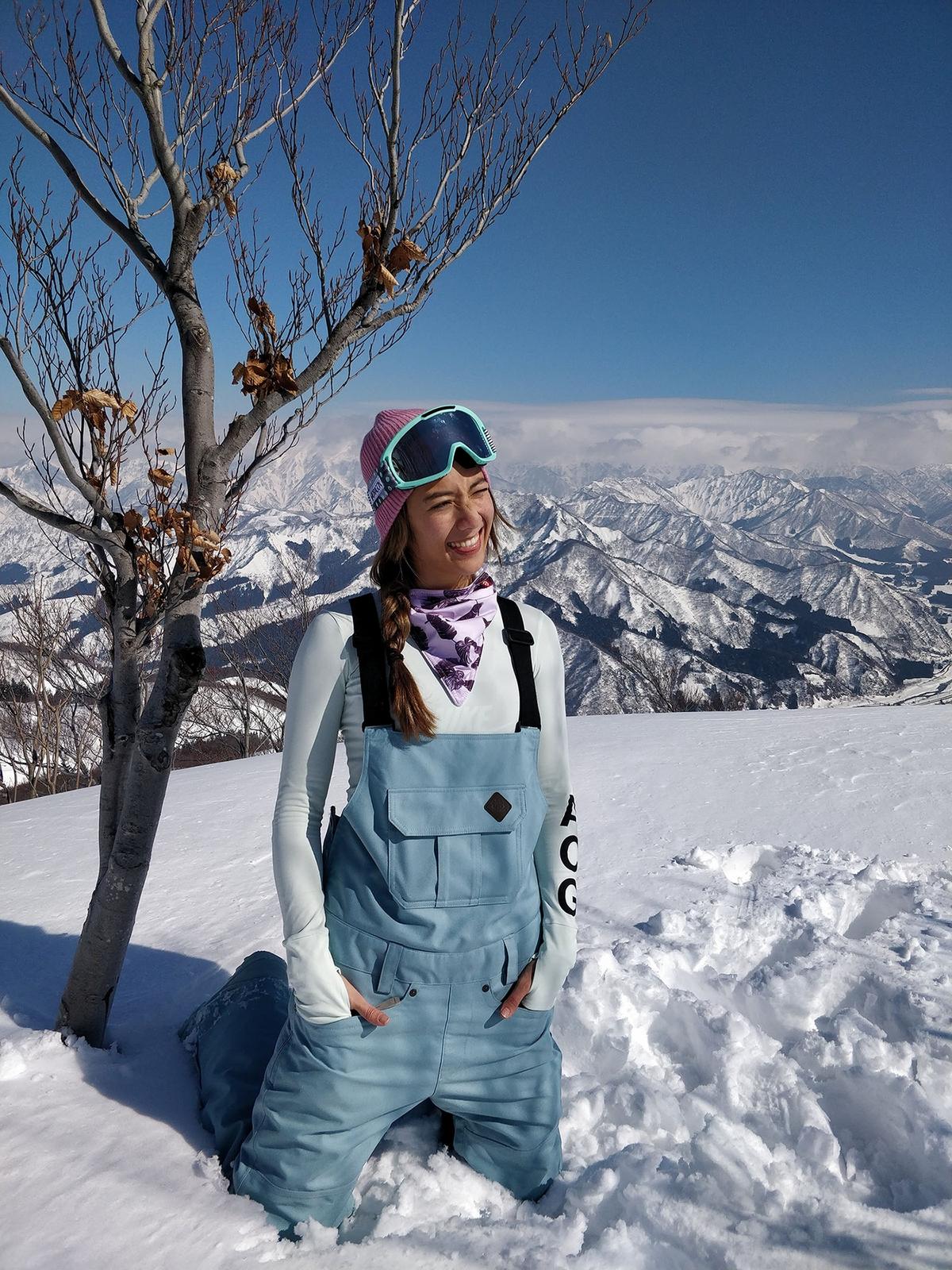 瑞瑪席丹滑雪秀腹肌 拚命三娘摔歪尾椎
