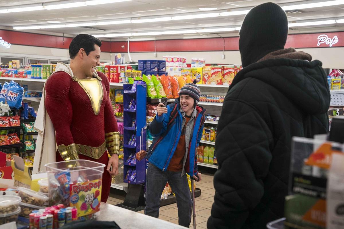 柴克萊威爽扮中二超級英雄《沙贊!》 被爆試裝時「興奮到停不下來」