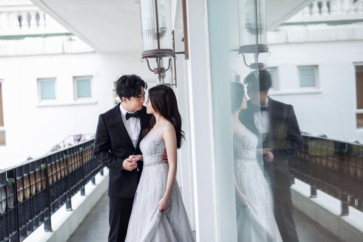 柯有倫香港補辦喜宴 「謝謝老婆接受不完美的我」