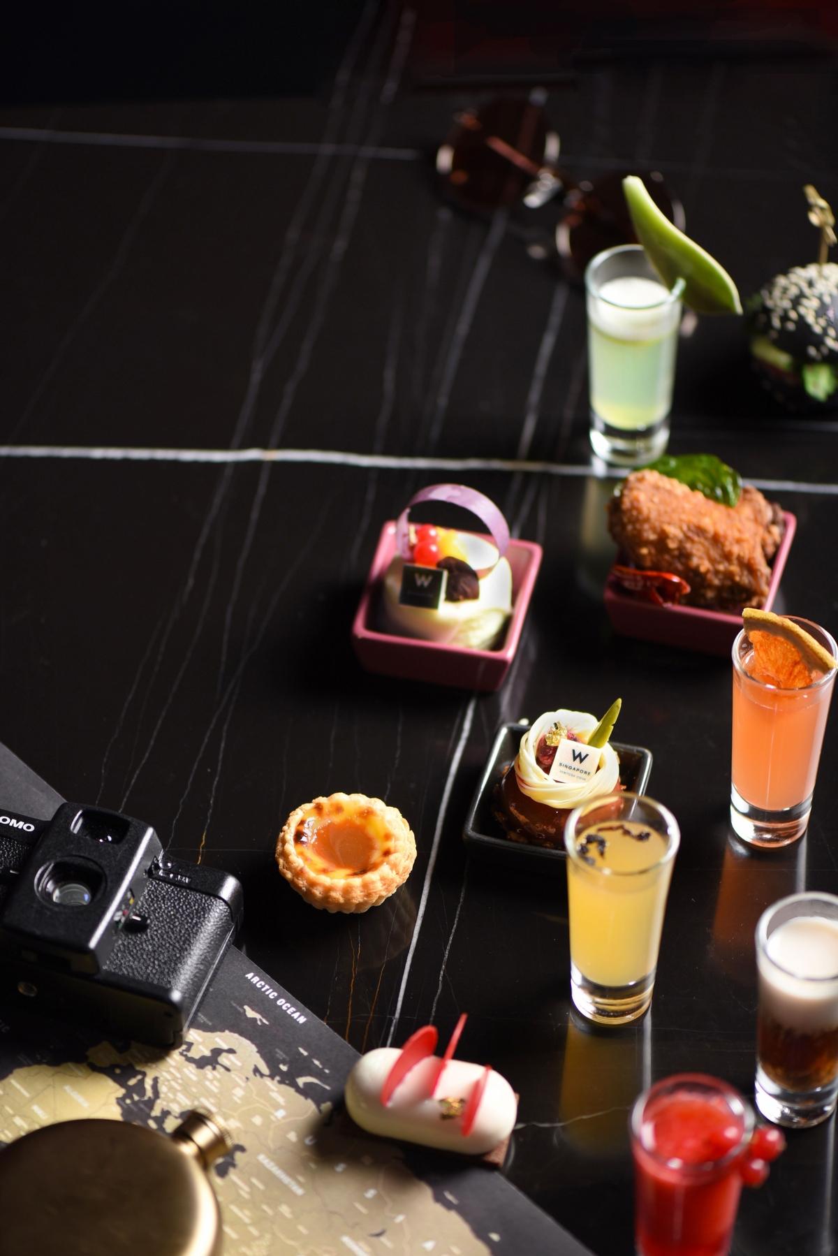不用出國就能吃遍香港、新加坡等特選餐酒!台北W飯店推出神級下午茶「W漫遊」搭配高空美景太浪漫