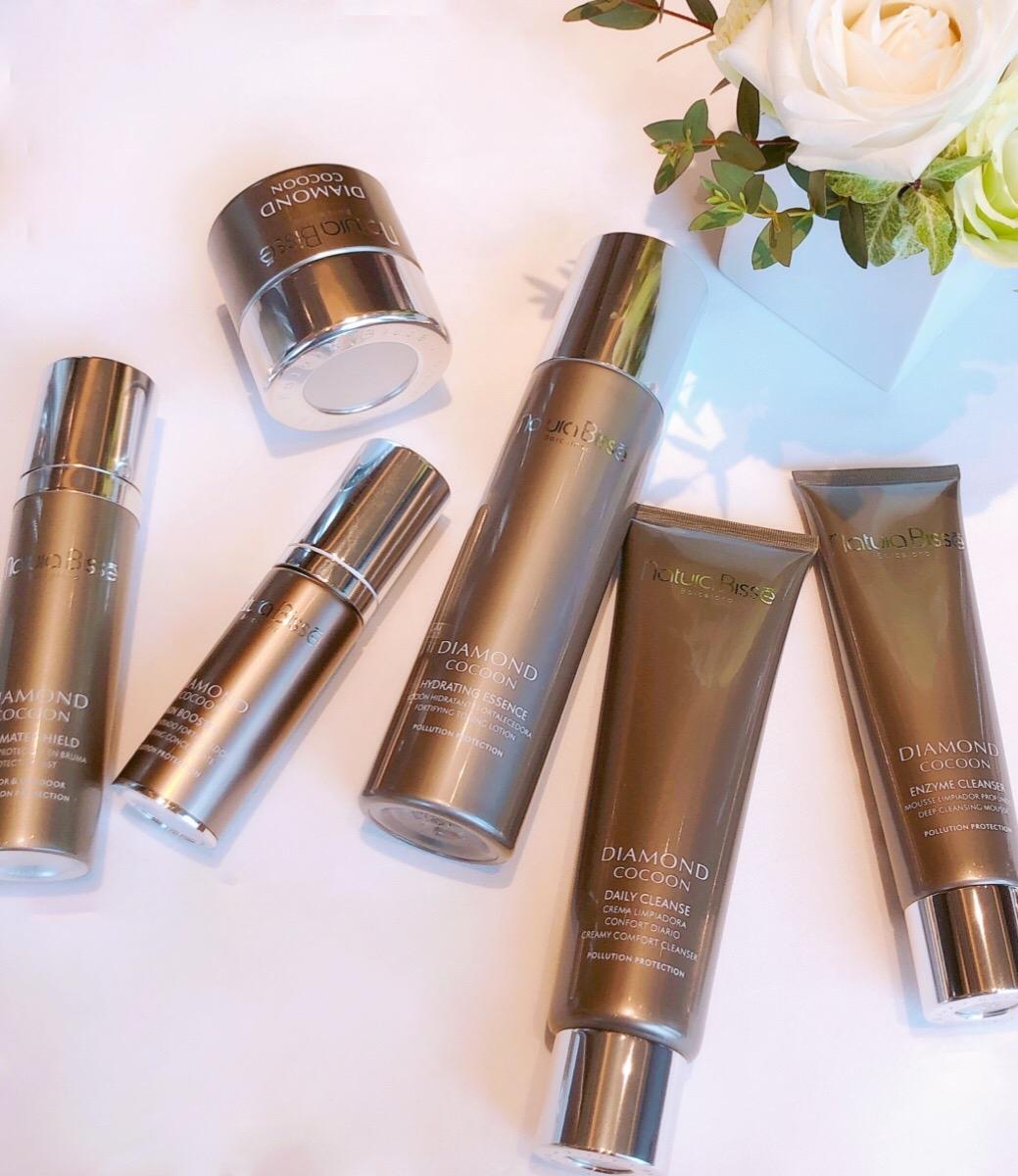 夏天的防護保養也要跟著時代進步才行! Natura Bissé 全新推出鑽石防護DIAMOND COCOON系列 讓肌膚保養跟上科技的腳步!