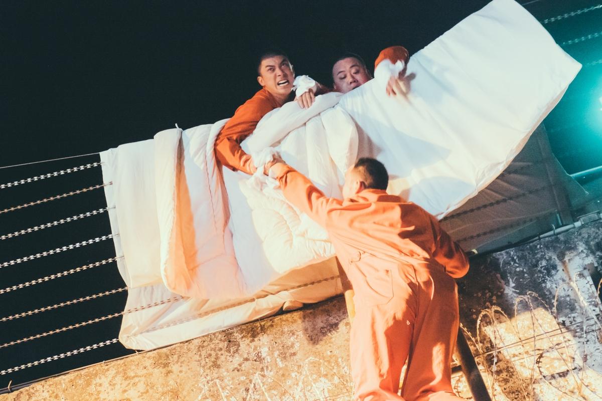 寒流天發燒還要跳6呎高牆! 林哲熹拍《樂獄》閃人生跑馬燈