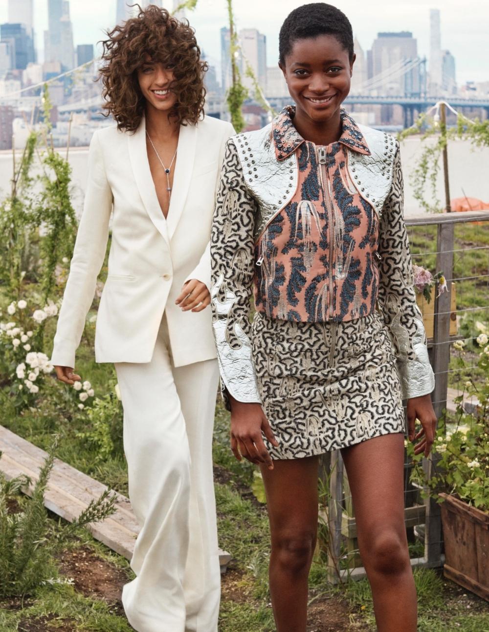 這樣的「綠」時尚好美!H&M全新Conscious Exclusive系列 要你當個最時髦的大自然女孩
