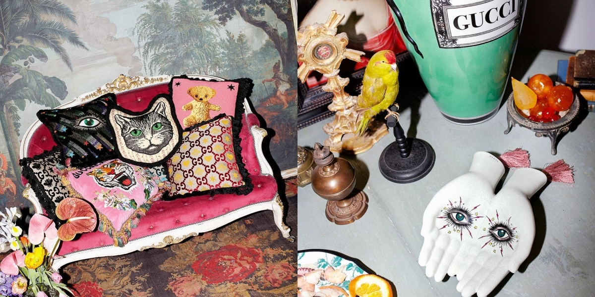 全新Gucci Décor家飾系列搶先登場米蘭限時店 雙手造型托盤美得好燒心!