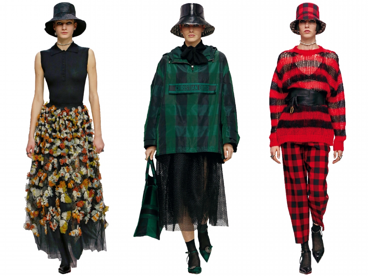 〈2019秋冬巴黎女裝周〉Dior  50年代的泰迪女孩來到現在的新模樣