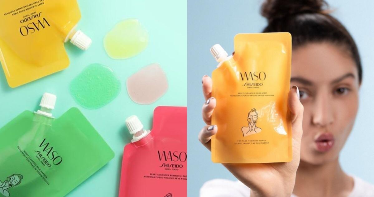 夏天就是要用新鮮果汁來洗臉? 資生堂 WASO 果汁潔膚露 特調口味 任君挑選!