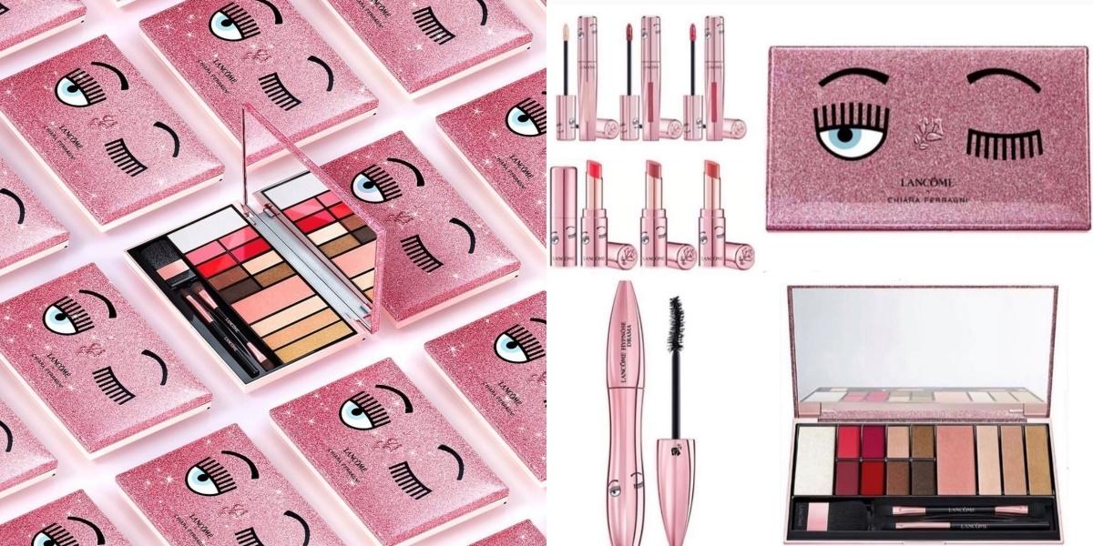 六親不認都要搶! LANCÔME蘭蔻 x CHIARA FERRAGNI 粉紅眨眼系列聯名彩妝, 台灣超限量上市 !