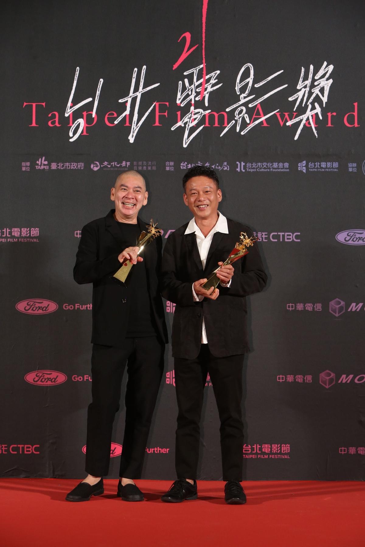 台北電影獎/威妮CP同框頒獎引尖叫! 首開影后雙蛋黃先例