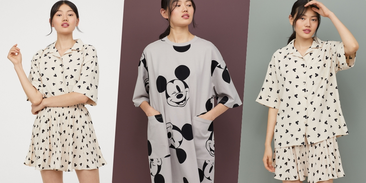 H&M DIVIDED與米奇攜手打造夏季亞洲時尚