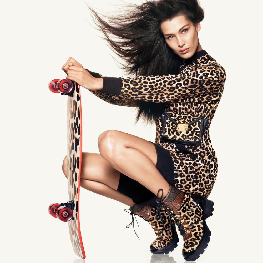 豹紋一點也不俗氣!看完由Bella Hadid演繹MICHAEL KORS秋季形象 立馬顛覆你的想像