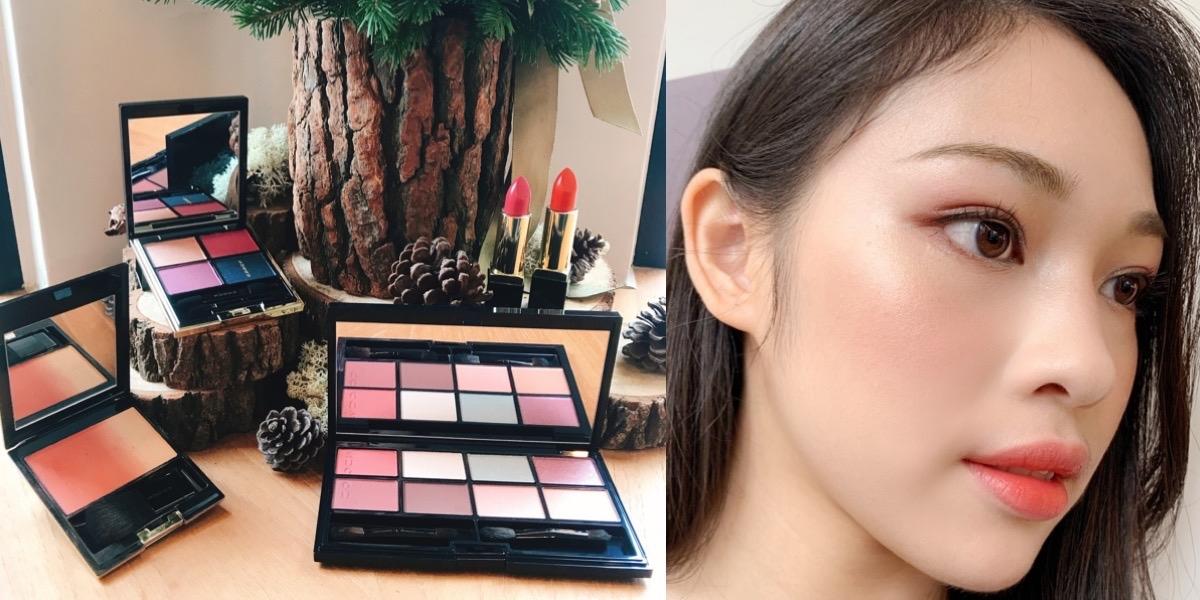 「肉桂蘋果腮紅」必買、「八色眼影盤」一天就賣光,SUQQU 2019聖誕節 英國限定 台灣開賣倒數中!
