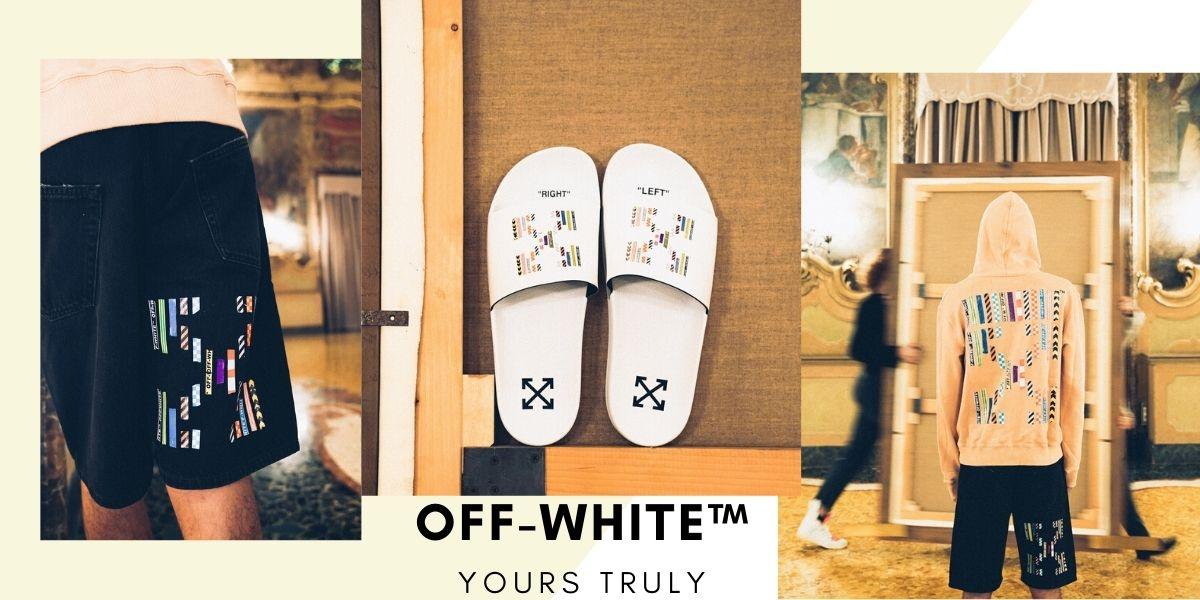 絕對讓你忍不住買下去!Off-White™獨家別注系列,加入膠帶圖騰設計實在太潮太燒!