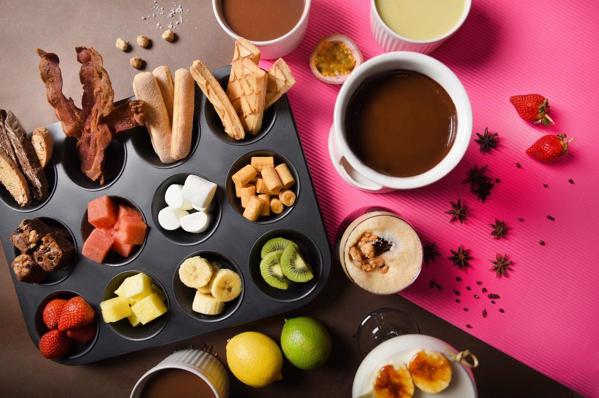 巧克力控必須吃!台北W飯店「巧克力主題午茶」可可鍋、巧克力特調、巧克力甜點,讓你天天都甜蜜