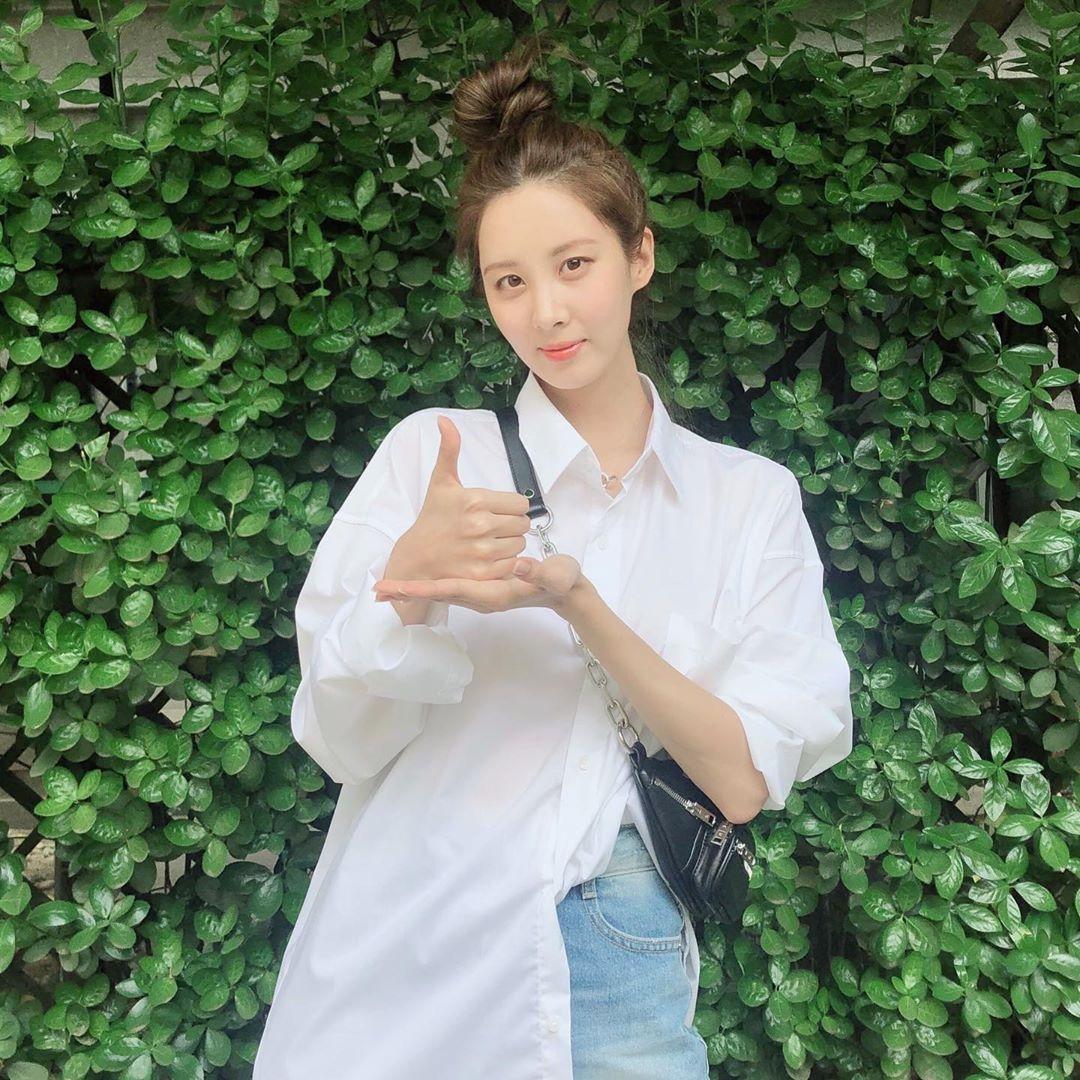 楊丞琳、韓素希都愛的白襯衫還可以這樣穿!學會立馬搭出女星的時髦氣場