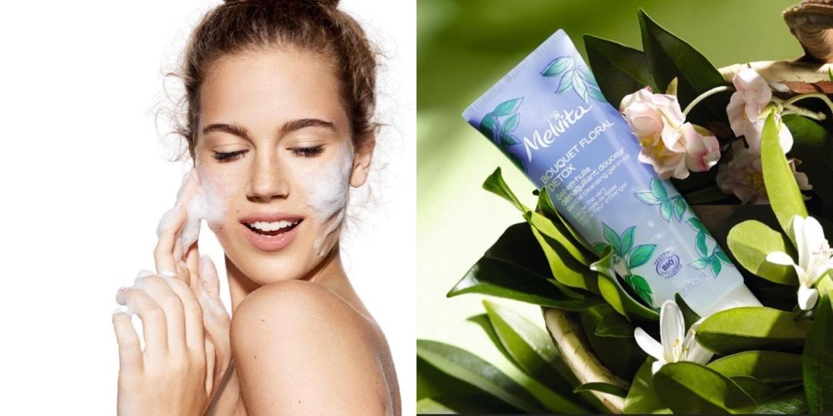 Melvita也太寵肌膚了,經典玫瑰水橙花水,再加上綠茶,從卸妝到洗臉讓肌膚好幸福