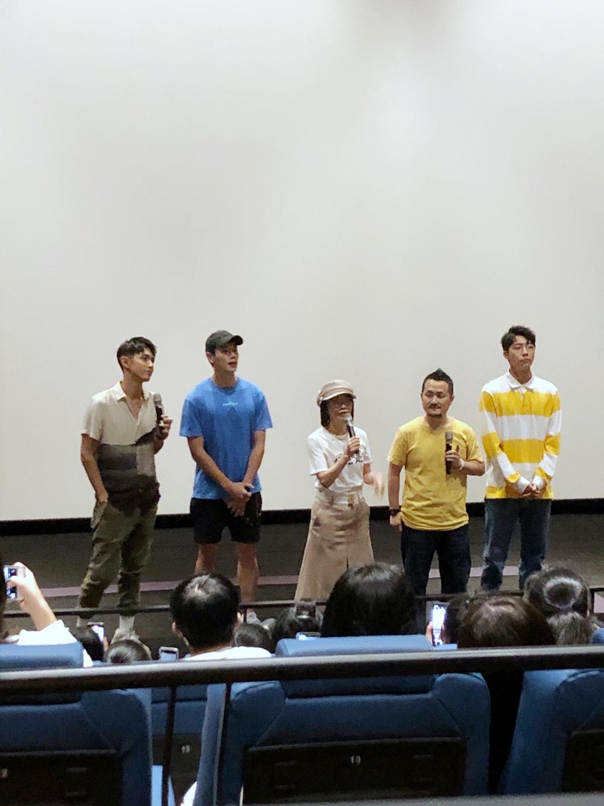 禾浩辰、蔡凡熙包場看《打噴嚏》! 柯震東尷尬獻唱只能「抱緊處理」