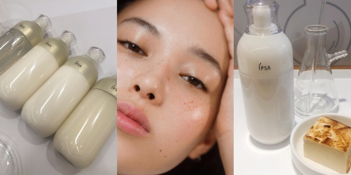 IPSA「ME小白瓶」多達17種不同類型的水乳液,幫妳量身打造出櫻花妹的清透美肌