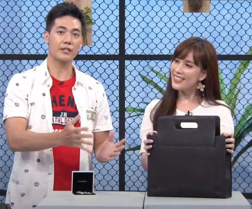 劉涵竹轉型露事業線 加盟東風《yes!潮有型》聊時尚
