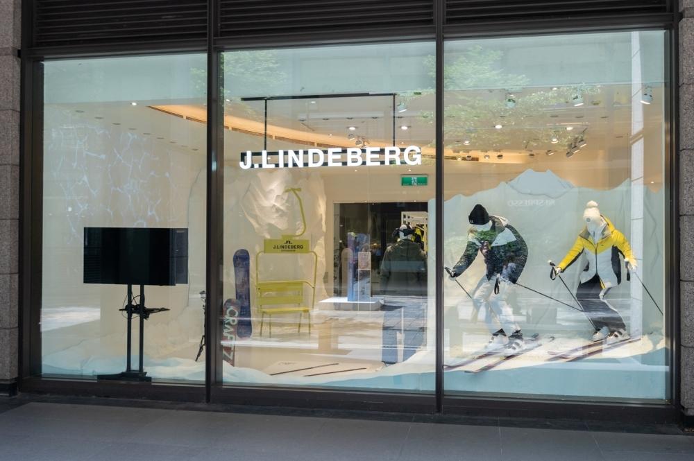 不出國也能享受滑雪體驗!瑞典設計師品牌J. LINDEBERG首間互動式滑雪概念店快閃信義A9