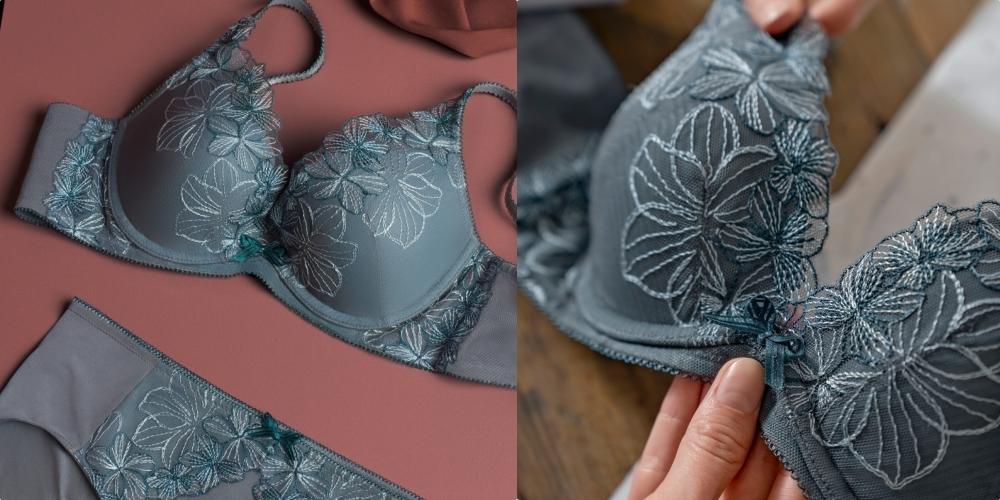 不只穿得自在也讓胸型更美了!黛安芬20周年水感動系列登場,無鋼圈設計實在太舒服~