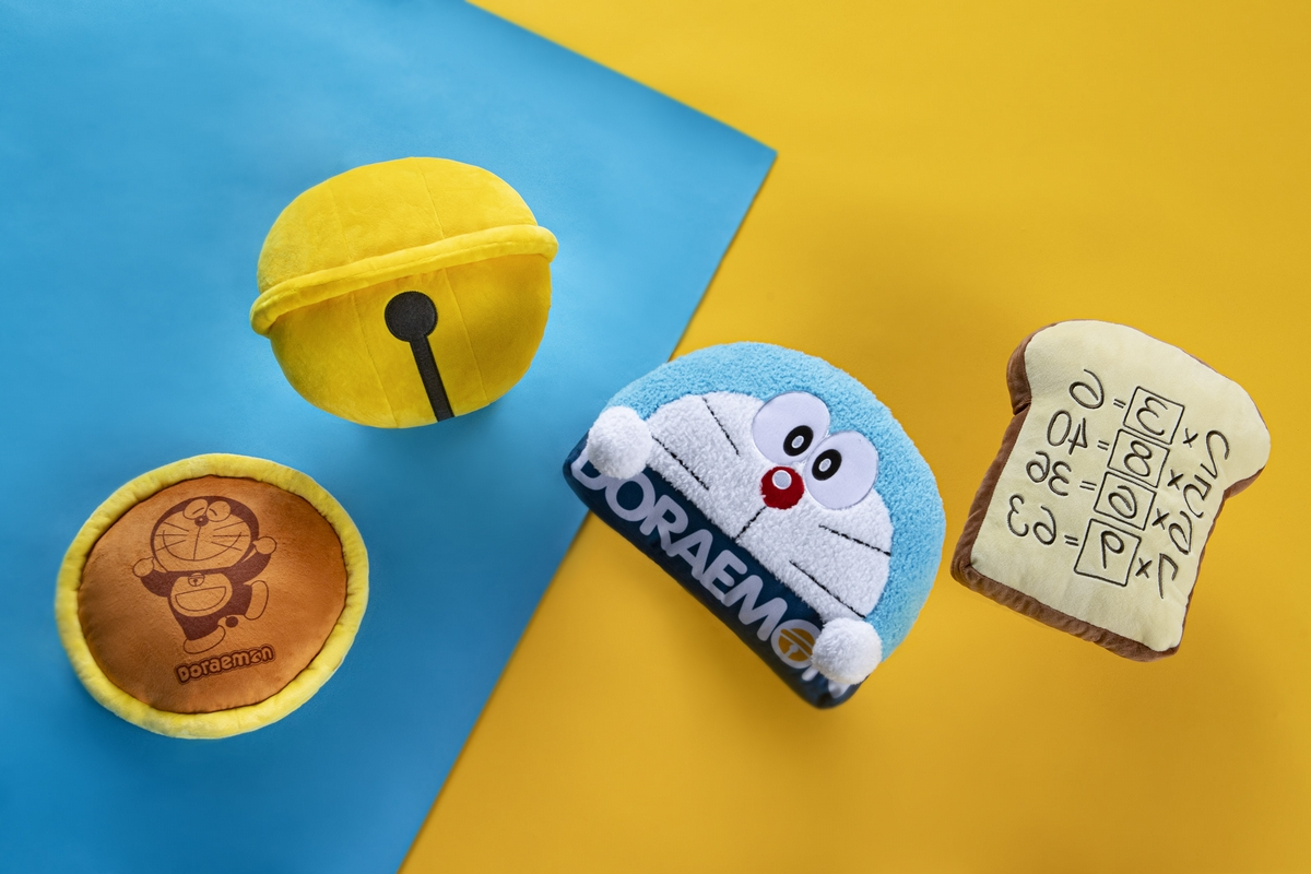 銅鑼燒、記憶吐司、友誼鈴鐺都必收!麥當勞X哆啦A夢推出4款造型抱枕,限量發售日期看這裡