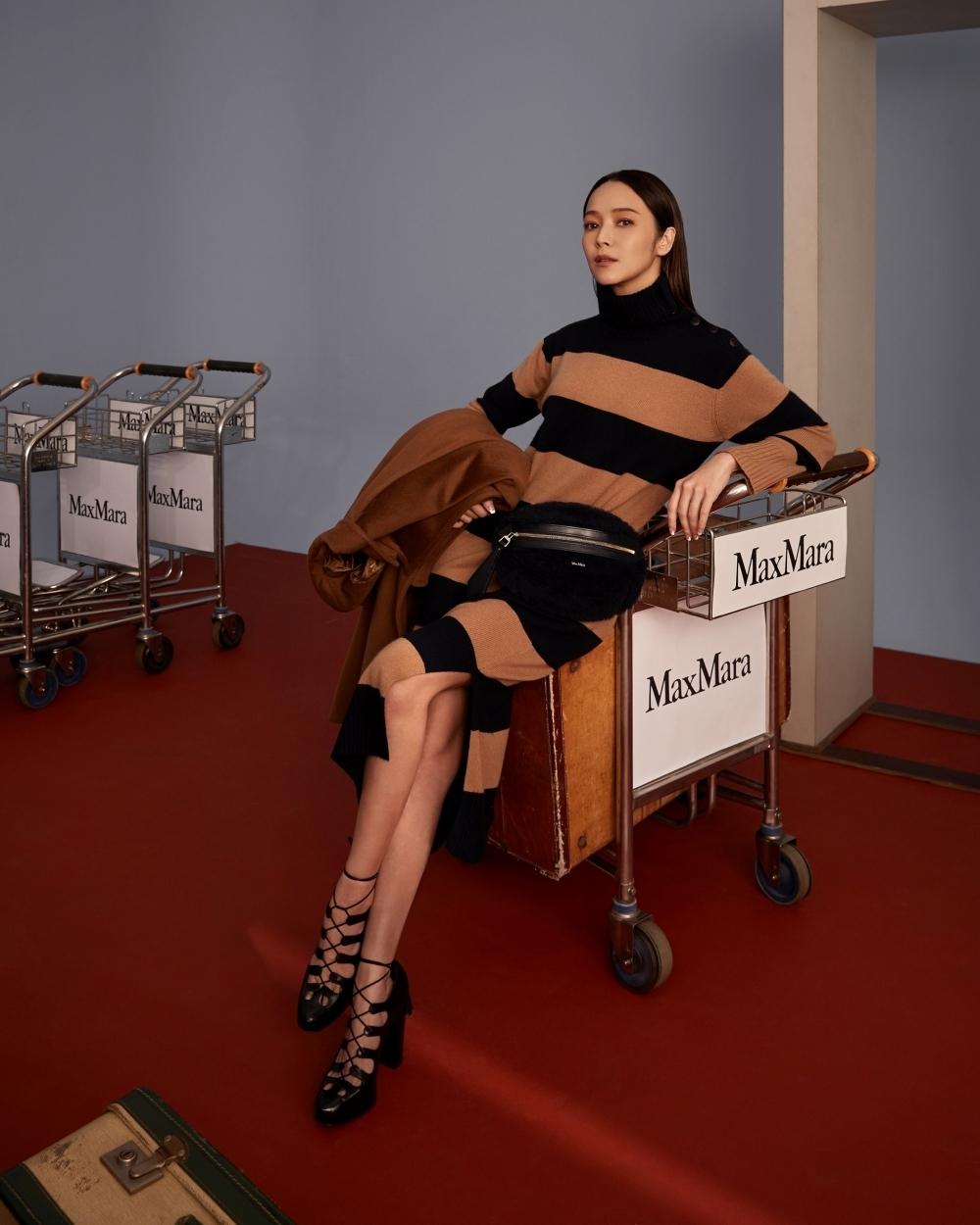 任何女孩都能找到穿搭靈感!侯佩岑、莫莉、游宇潼演繹Max Mara秋冬系列,大展跨世代女力之美