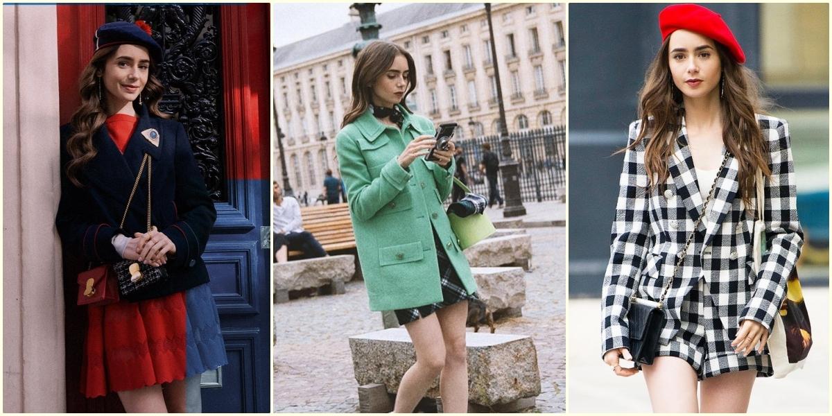 《艾蜜莉在巴黎》莉莉柯林斯6大穿搭重點請筆記!原來時髦又高級的OOTD這樣搭就對了