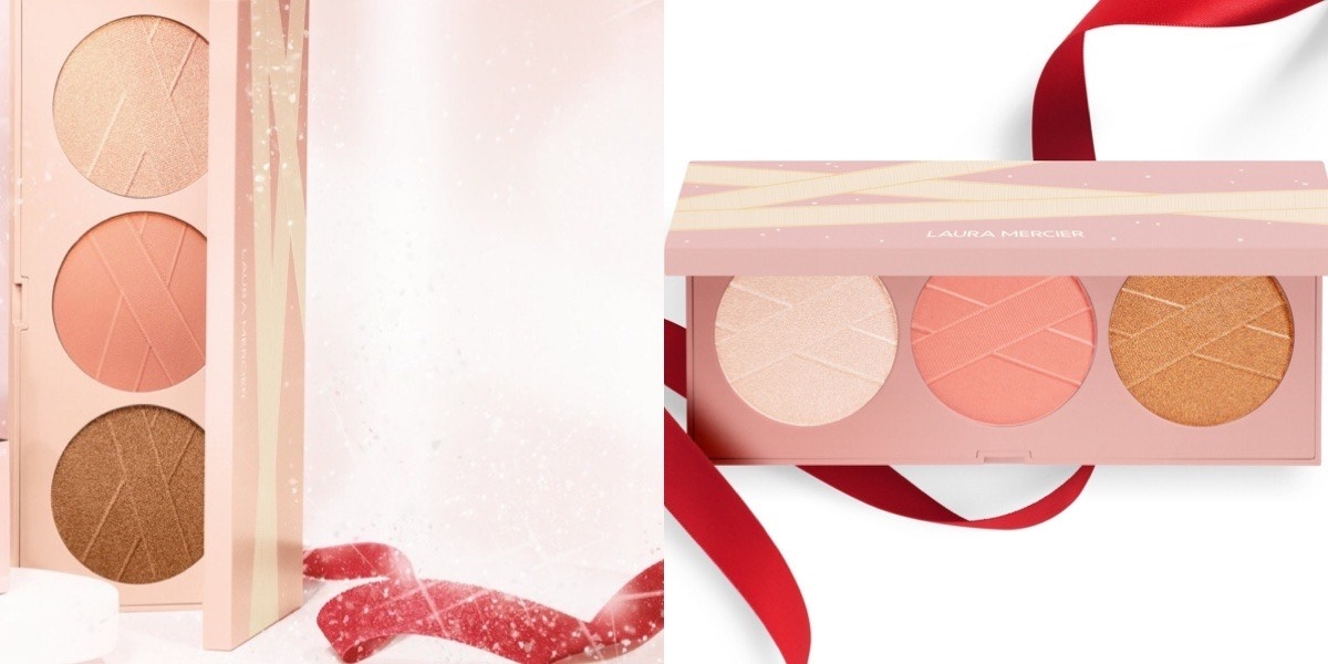 從眼部到雙頰、唇部,最優雅最少女的聖誕彩盤,能讓妳妝容從日到夜都超美的啊