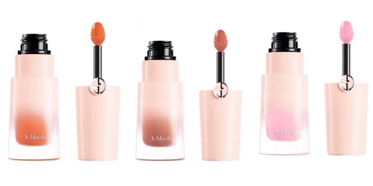 網路口碑爆棚零失手的Giorgio Armani氣墊腮紅露,新添清新裸粉色,顯白珊瑚橘女孩最愛玫瑰粉必收