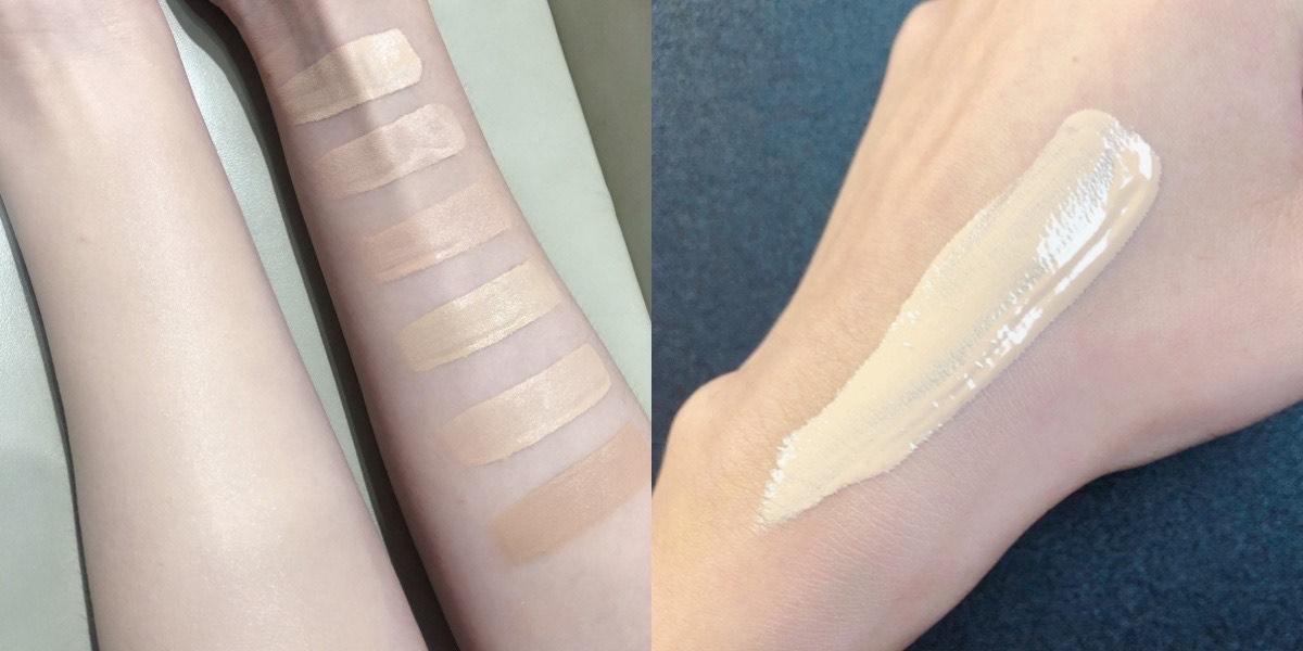 香奈兒奢華晶燦賦活粉底精萃擦在肌膚上的細緻光澤,真的不得了,根本是好命肌才有的