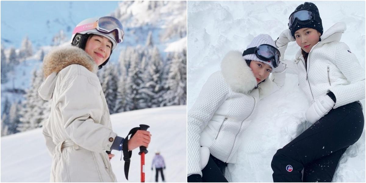 是鄭氏姊妹的愛牌!Chloé與超人氣滑雪品牌Fusalp聯名,隋棠搶戴雪鏡也一同登場啦!