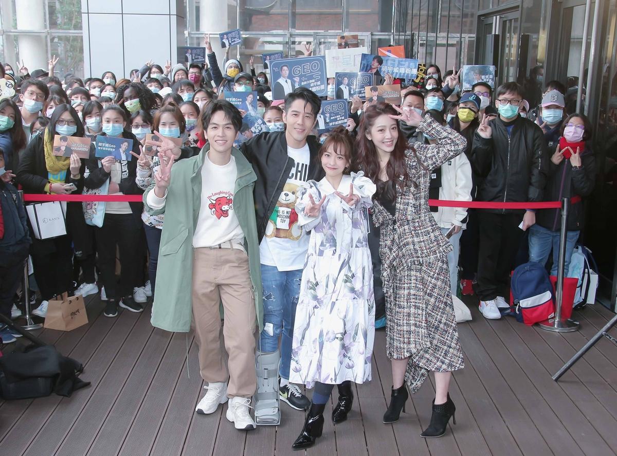 不只3百粉絲寒流中相挺!藍隊也來支持 胡宇威暖在心
