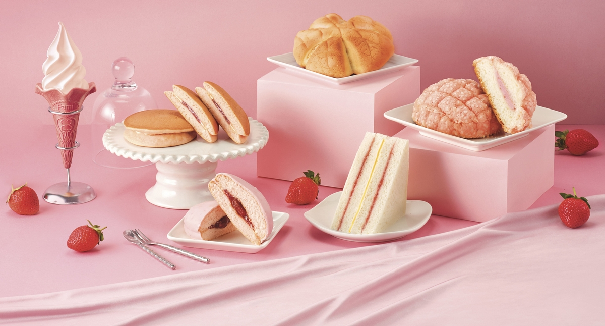 草莓控注意!全家人氣「重乳草莓霜淇淋」回歸 加碼推出「草莓鬆餅、布雪」等限量甜點!