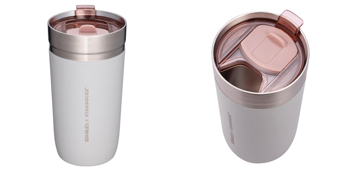 清水灰+煙粉紅必須買!2021星巴克 X Stanley聯名系列1/20開賣,首推「不鏽鋼把手杯、TOGO冷水杯」6款一次看