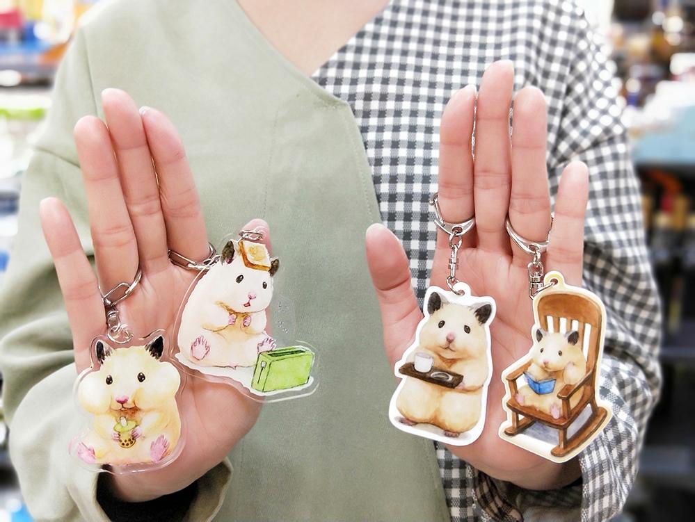 超萌倉鼠「助六的日常」X 萊爾富獨家推出44款限量療癒小物 明信片、日常小物必收!