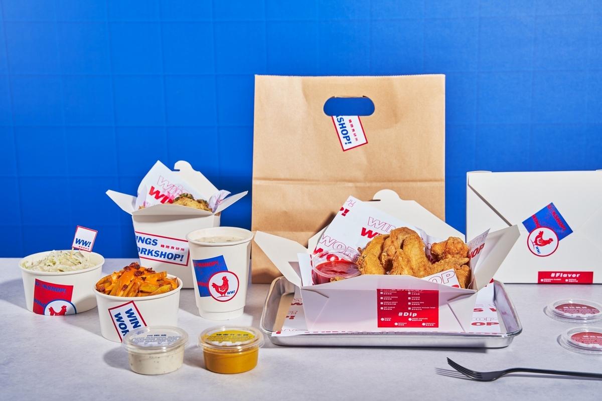 100支雞翅餐太誘人!頂呱呱「雞翅食研所」主打10種風味雞翅、4款沾醬,多份量選擇根本開派對