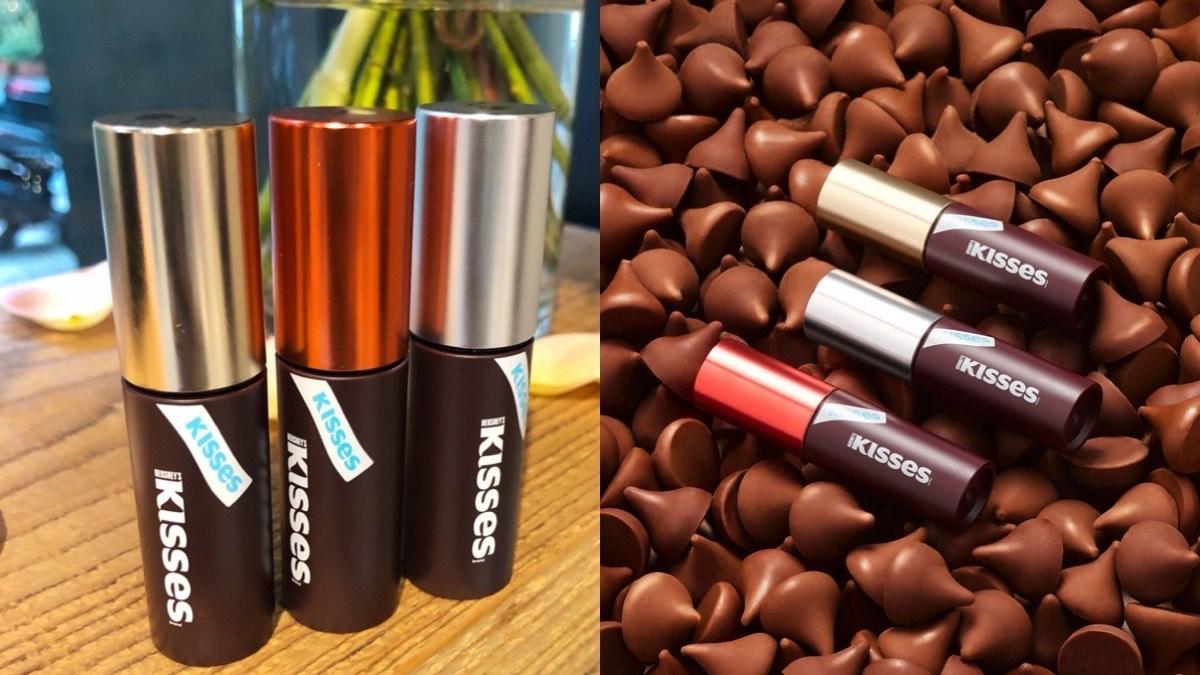 去年沒搶到,今年Etude House再度與好時巧克力攜手合作,Hershey's Kisses彩妝超好聞超好買