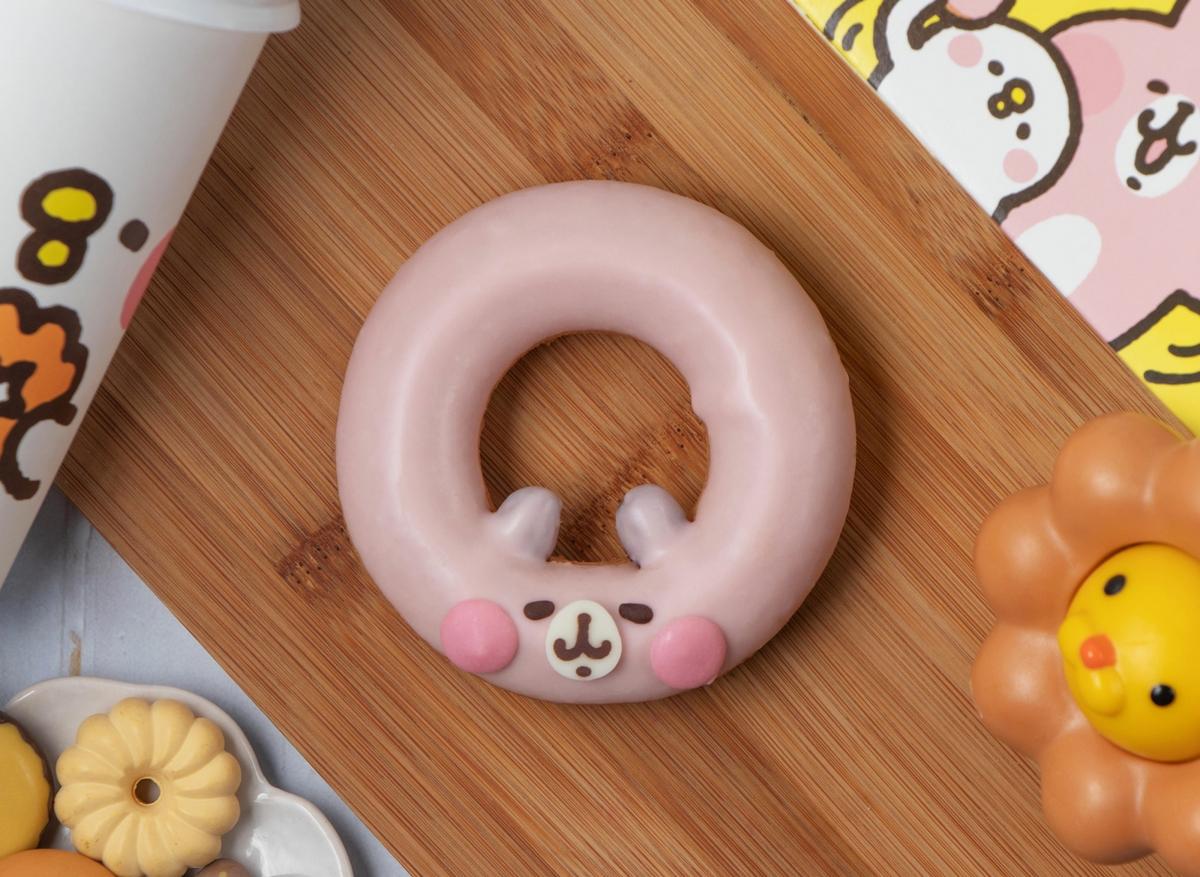 粉紅兔兔、P助甜甜圈太萌!Mister Donut X 卡娜赫拉的小動物推出4款造型甜點,聯名面紙套、環保杯必搶