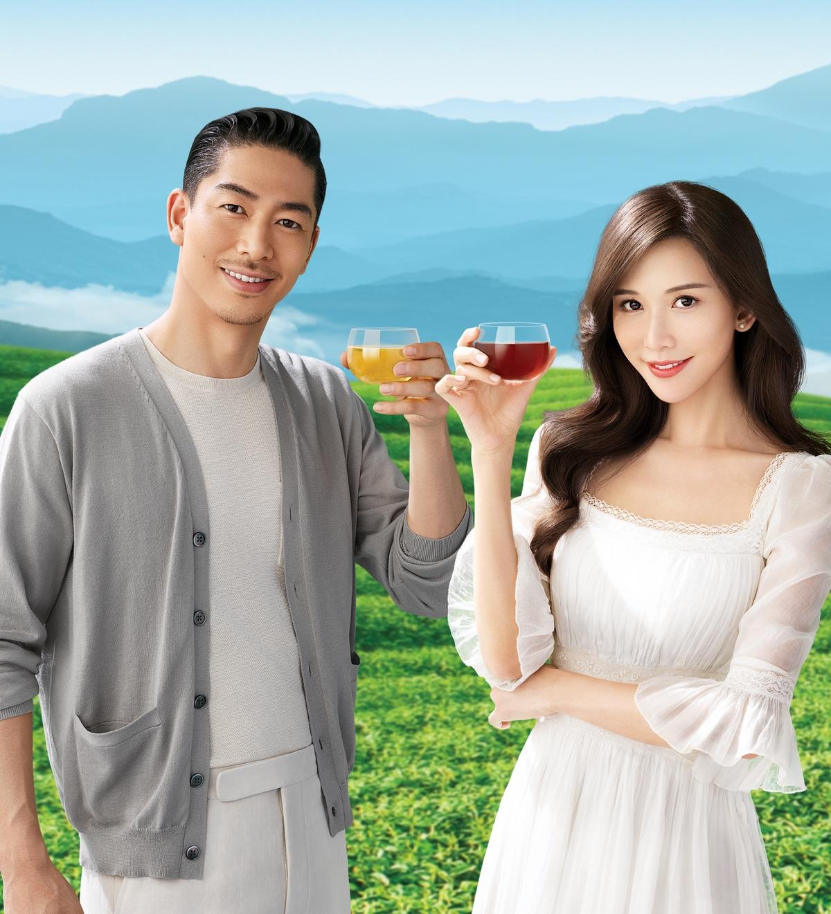 林志玲、AKIRA夫妻首度合體代言! 拍御茶園廣告互動甜出汁