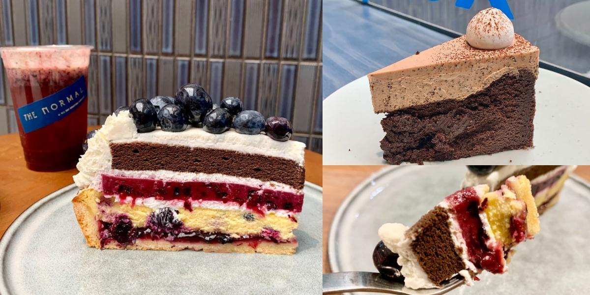 「藍莓巧克力乳酪塔」快閃必吃!質感咖啡廳THE NORMAL X IG人氣甜點店Sweet Tooth推出3款聯名甜點、飲品