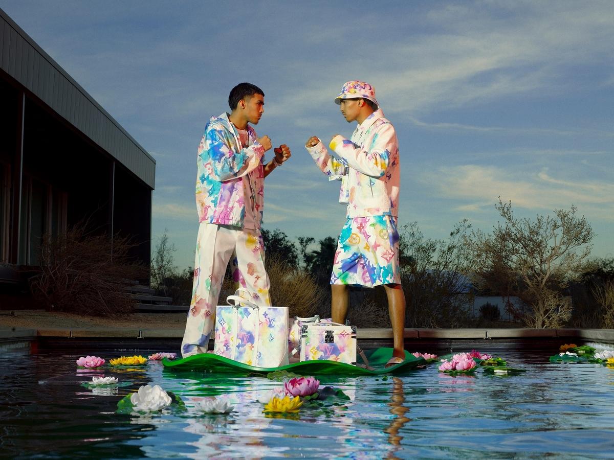 LV 2021 春夏男装Summer膠囊系列正式發佈 每件單品像是輕快寫意的水彩渲染