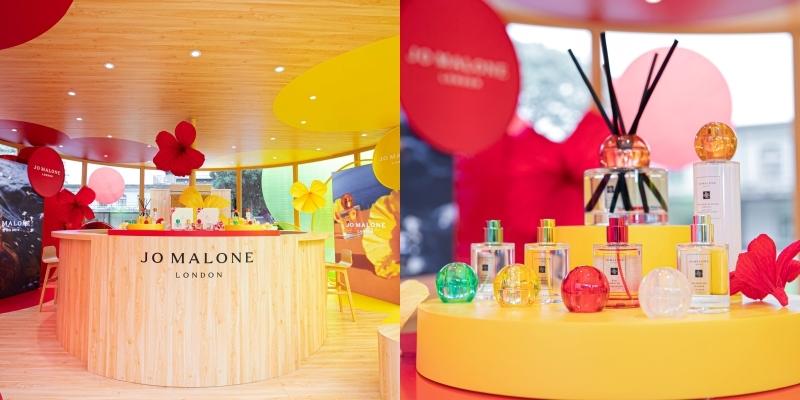 海邊小木屋、熱帶特調飲、最浪漫的異國香調,通都在台北華山文創的「Jo Malone London 熱帶島嶼花園香氛吧」!