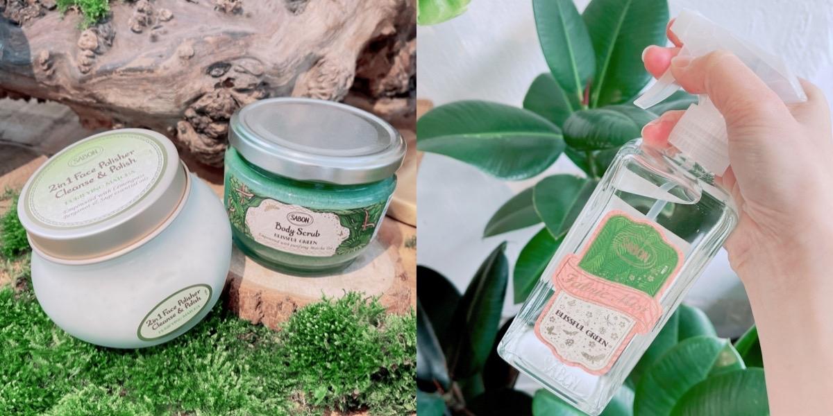 一秒解壓的療癒香味好需要!抹茶萃取的自然力量讓人天都想回家立刻用~從頭到腳洗去全身的不開心!