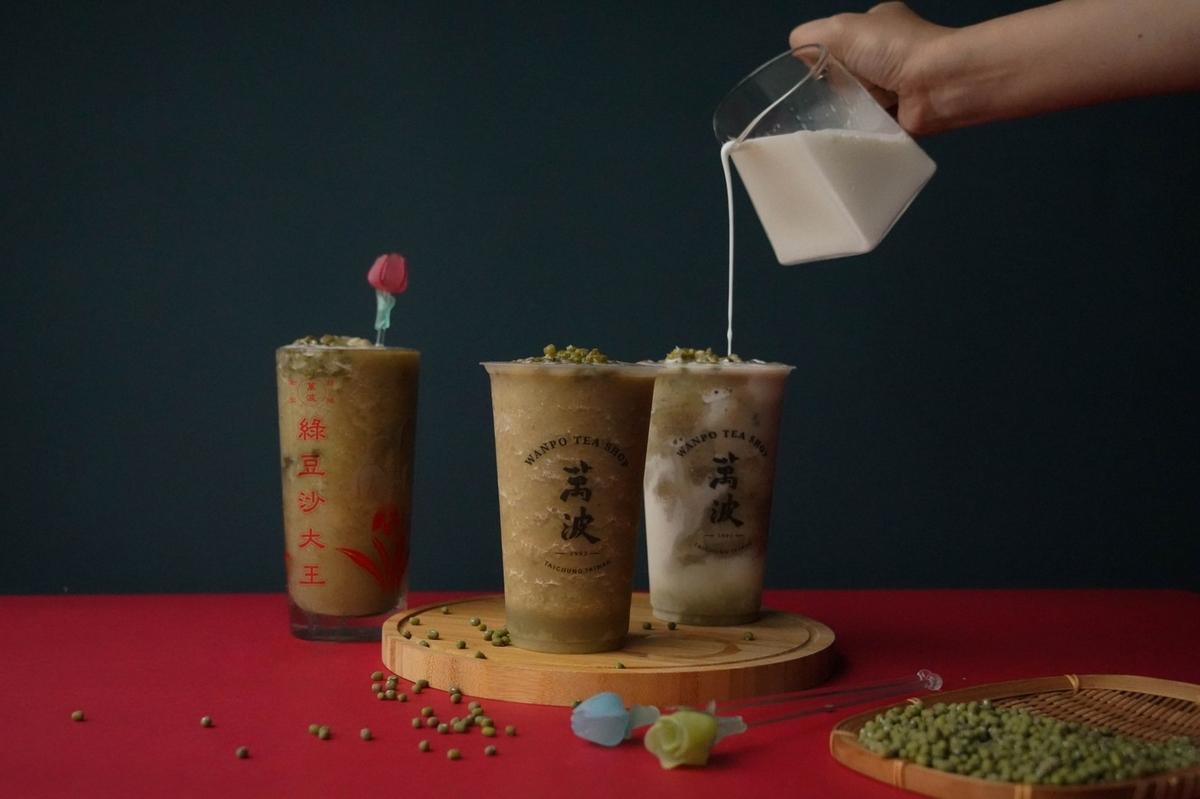 喝的是回憶!萬波懷舊新品「呱呱綠豆湯、波霸綠豆沙、綠豆沙牛奶」手工熬煮綠豆 重現兒時幸福滋味