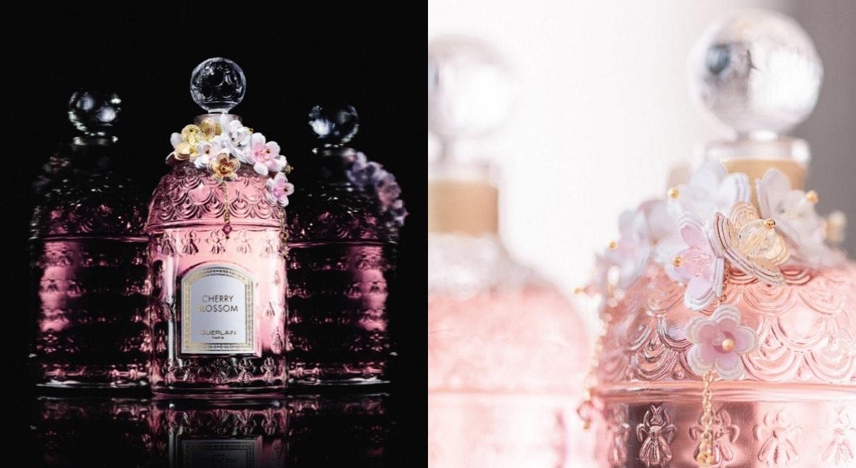 美翻了,嬌蘭全新要搶的「鈴蘭淡香水-瑾卉繡珠蜂印瓶」、「花見春櫻淡香水- 縷金華冠蜂印瓶」,香氛鐵粉必搜