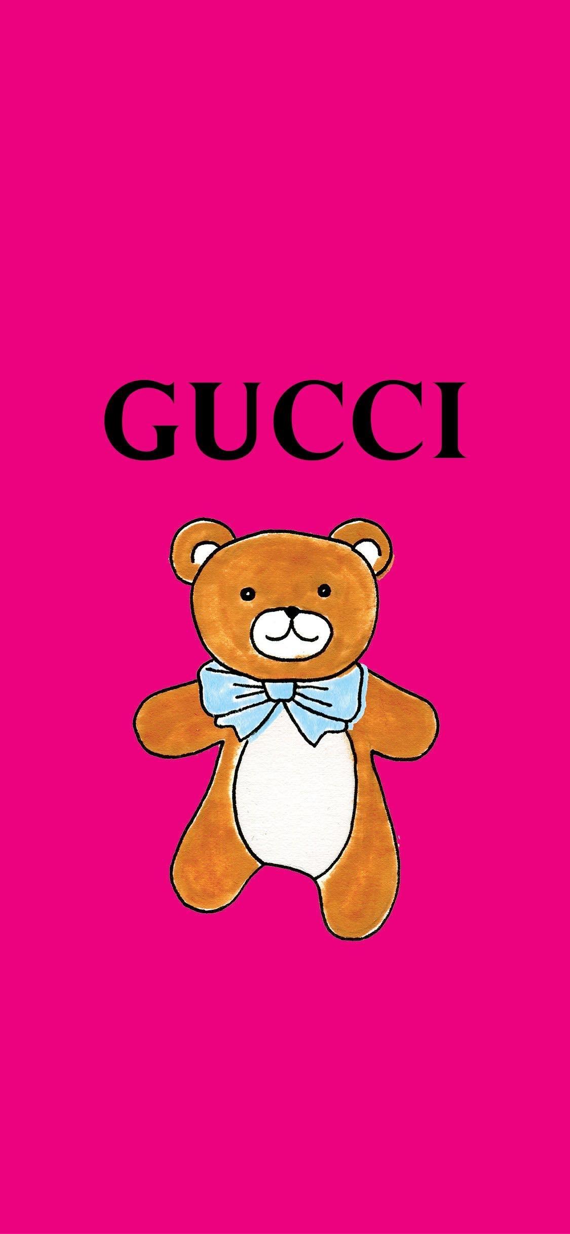 超萌GUCCI LINE貼圖限時免費下載!還有療癒可愛泰迪熊主題~加入好友就可獲得啦