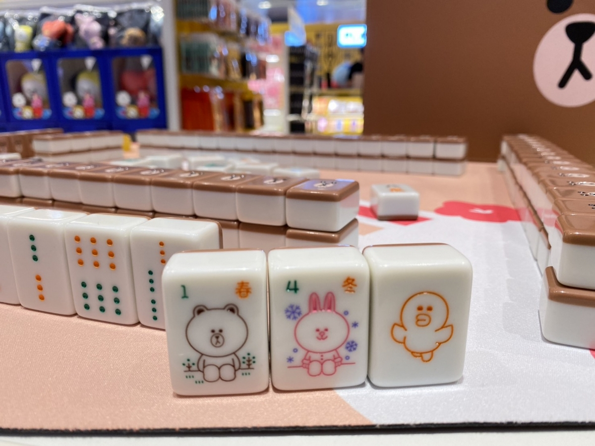 LINE FRIENDS台北店「250公分莎莉」必打卡  熊大麻將組、櫻花季限定商品搶先開賣!