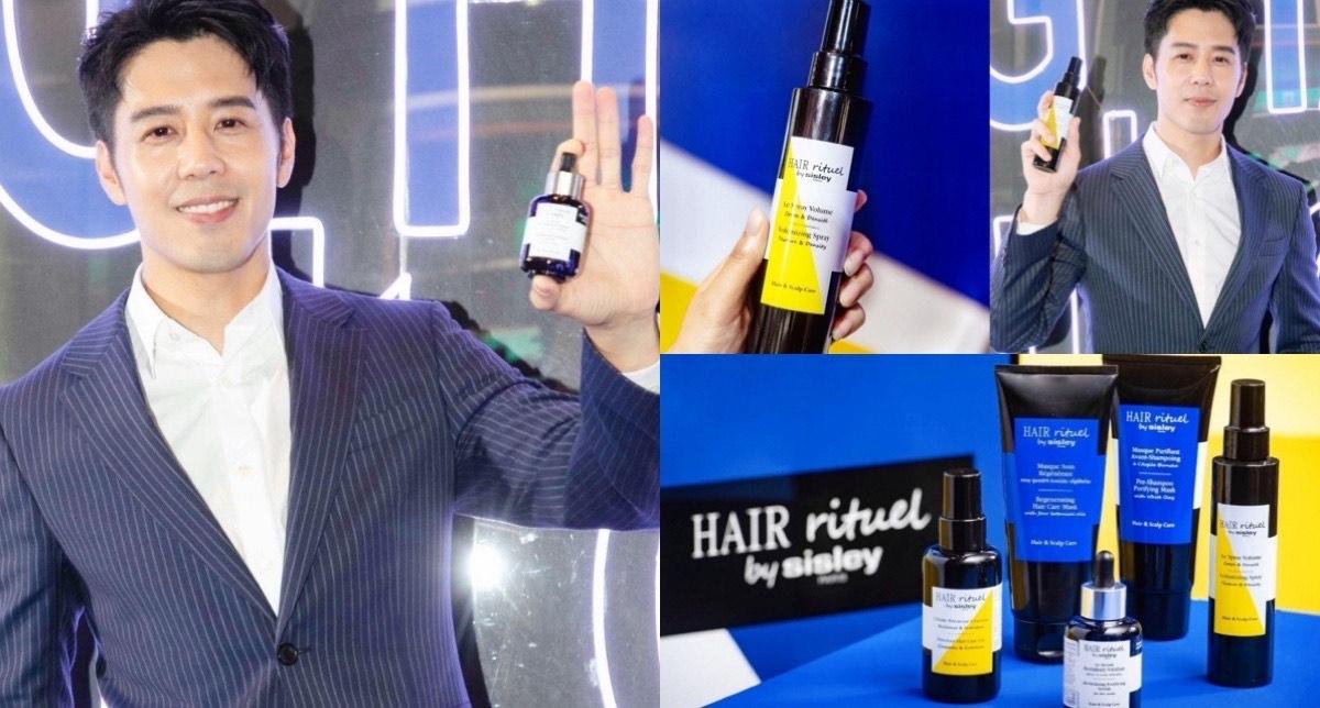 有著「男神隊長」封號的胡宇威,一頭豐盈的秀髮讓他帥氣爆表,靠的就是Hair Rituel守住頭皮的輪廓線