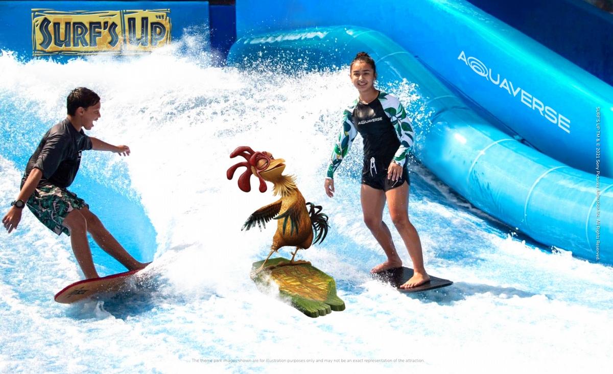 水上樂園新聖地!「哥倫比亞影業水世界」10月泰國開幕《MIB星際戰警》、《尖叫旅社》8大主題一次玩遍