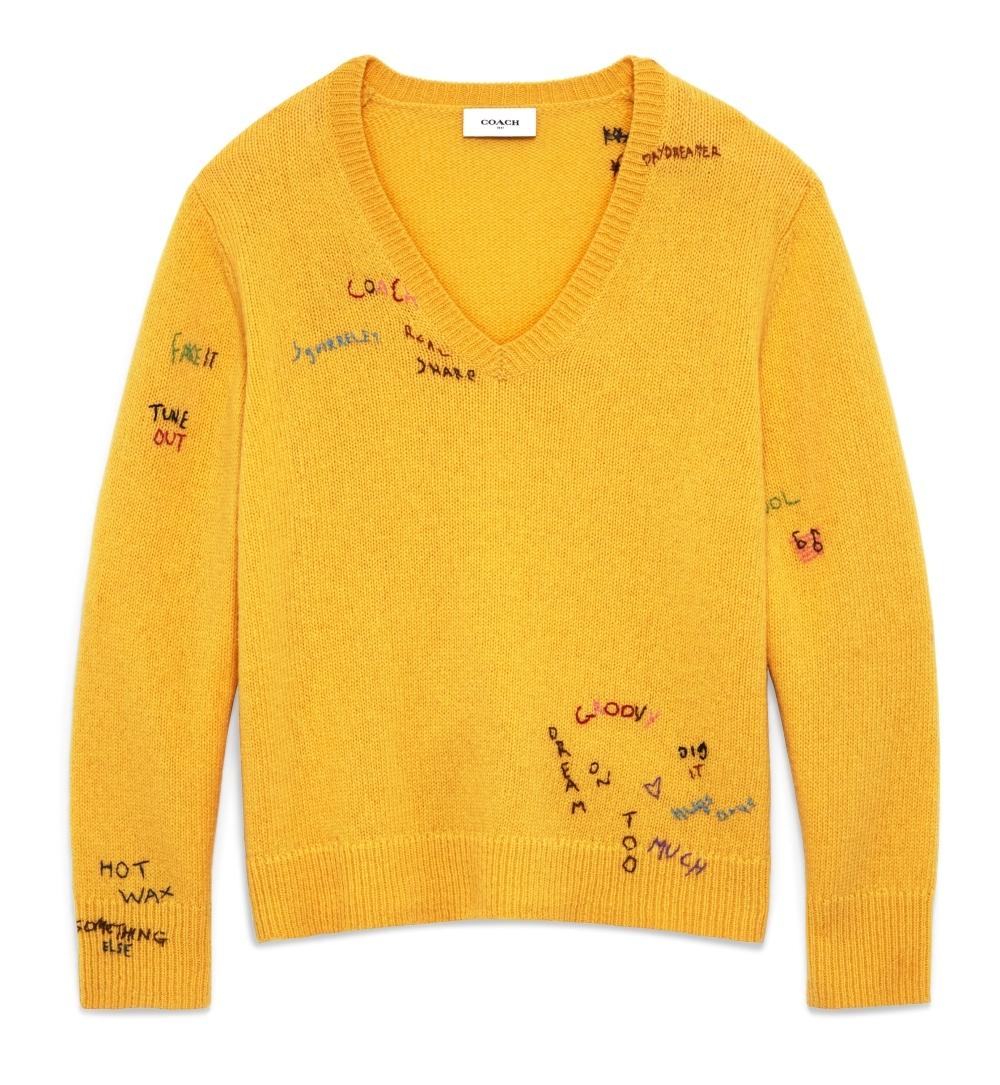 COACH客製化刺繡服務太有趣!跟著陳庭妮、劉冠廷、許路兒一起在白T刻出可愛圖案